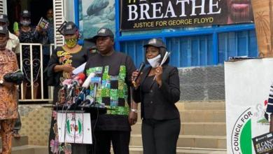 Photo of George Floyd: NIDCOM, NCAC hold solidarity rally in Abuja