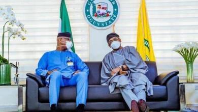 Photo of Gbajabiamila visits Ogun governor Dapo Abiodun