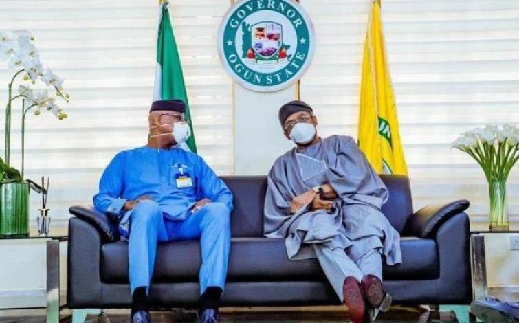 Gbajabiamila visits Ogun governor Dapo Abiodun
