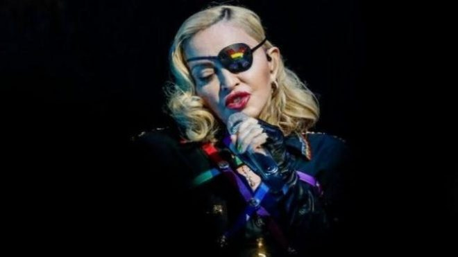 Madonna claims to have been exposed to Covid-19 on her Madame X tour earlier this year Reuters
