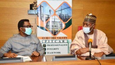 Photo of Zulum visits NDPHC, requests 132kV to Dikwa, Marte