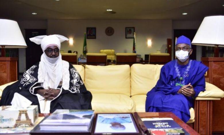 New Emir of Zazzau Ahmad Nuhu Bamalli visits El-Rufai