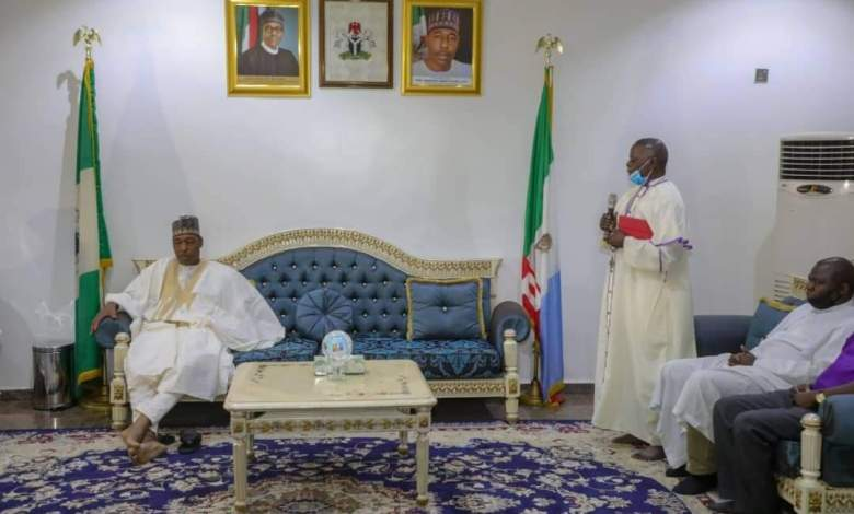 Zulum declares Monday for statewide fast, meets Muslim, Christian leaders