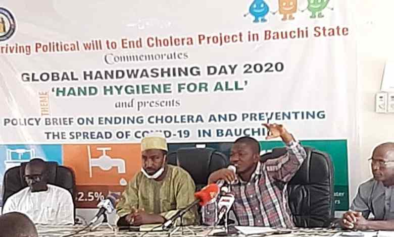 Hand Washing Day: CSO records 39,795 cholera cases in eight years in Bauchi