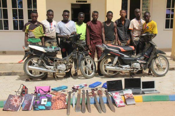 Police arrest 29 hoodlums, robbery suspects in Bauchi