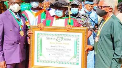 Photo of Bauchi governor wins North East award on cleanliness