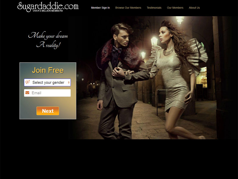 Sugar daddy dating site in usa