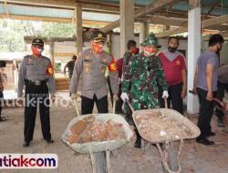 TNI-Polri Kompak Bangun Masjid dan Fasilitas Umum