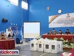 Sidang Plano di Sijunjung, Saksi 4 Paslon Tolak Penetapan Hasil Suara