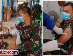 Komandan Kodim Mentawai Makin Sehat Usai Divaksinasi
