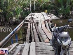 Jembatan Nasional di Dusun Sagitci Butuh Pembangunan