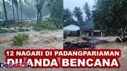 banjir di Padangpariaman 2021