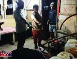 BBM Subsidi di Padang Ditimbun, 1 Ton Solar Ketahuan