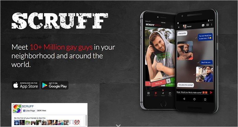 scruff gay dating app