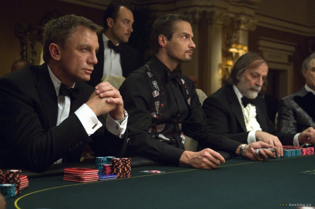 James Bond, Casino Royale - casino good for a first date?