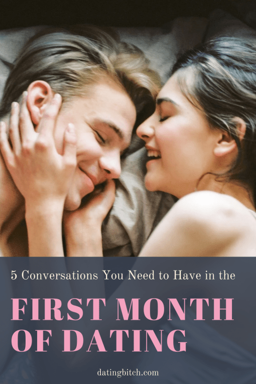 Five Conversations to have in the first month pin