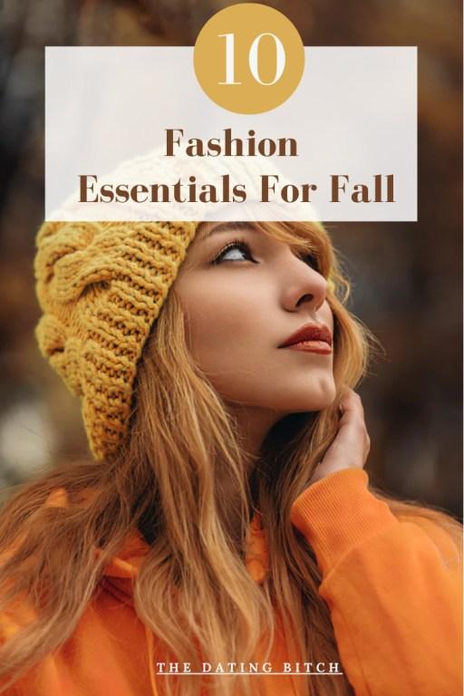 10 Fall Fashion Essentials Pin