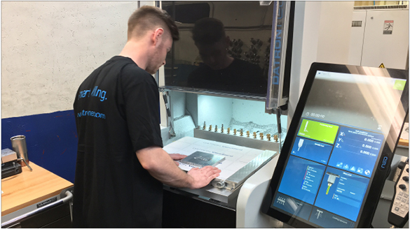 Job shop uses a DATRON neo to get started with high speed machining of aluminum.