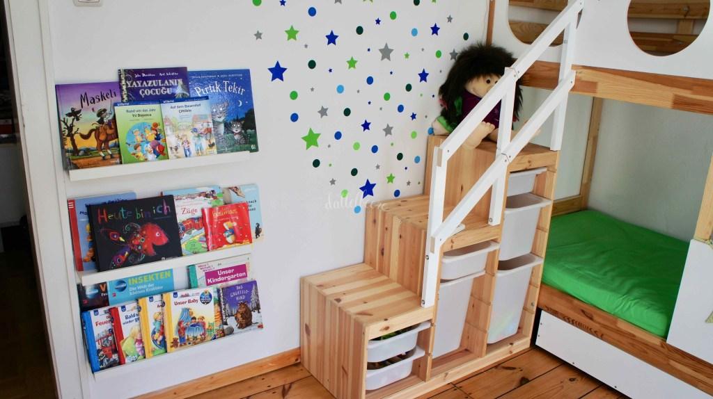 Treppe aus Ikea Regal bauen