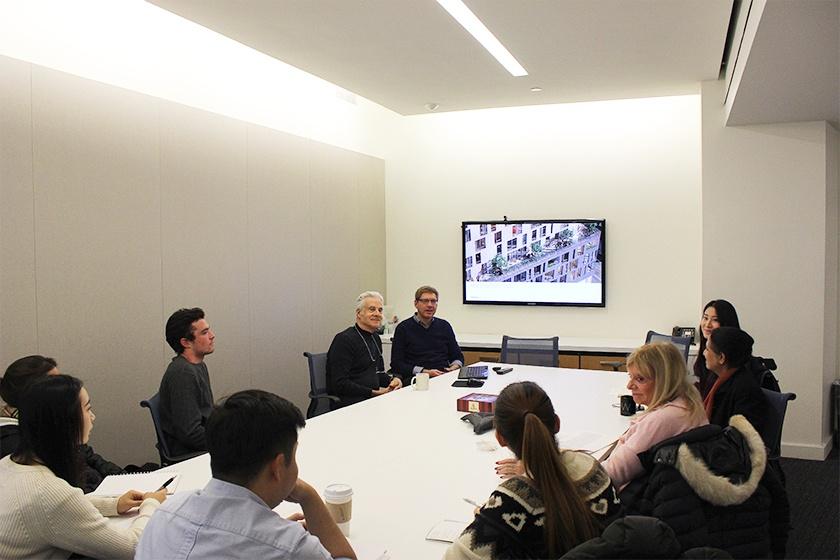 Dattner Architects NYU Real Estate Class Presentation on Housing