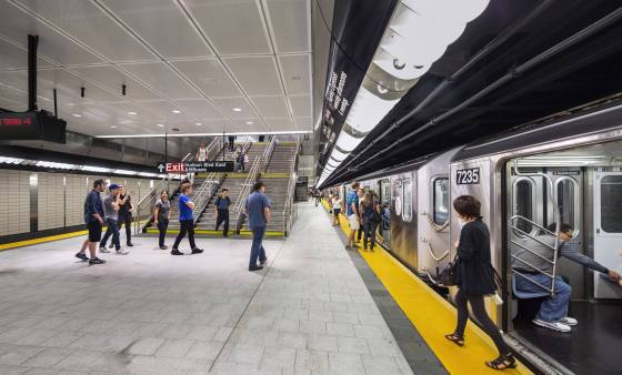 Dattner Architects, AIANY & ASLANY Transportation + Infrastructure Award, Number 7 Subway Line Extension, New York, NY