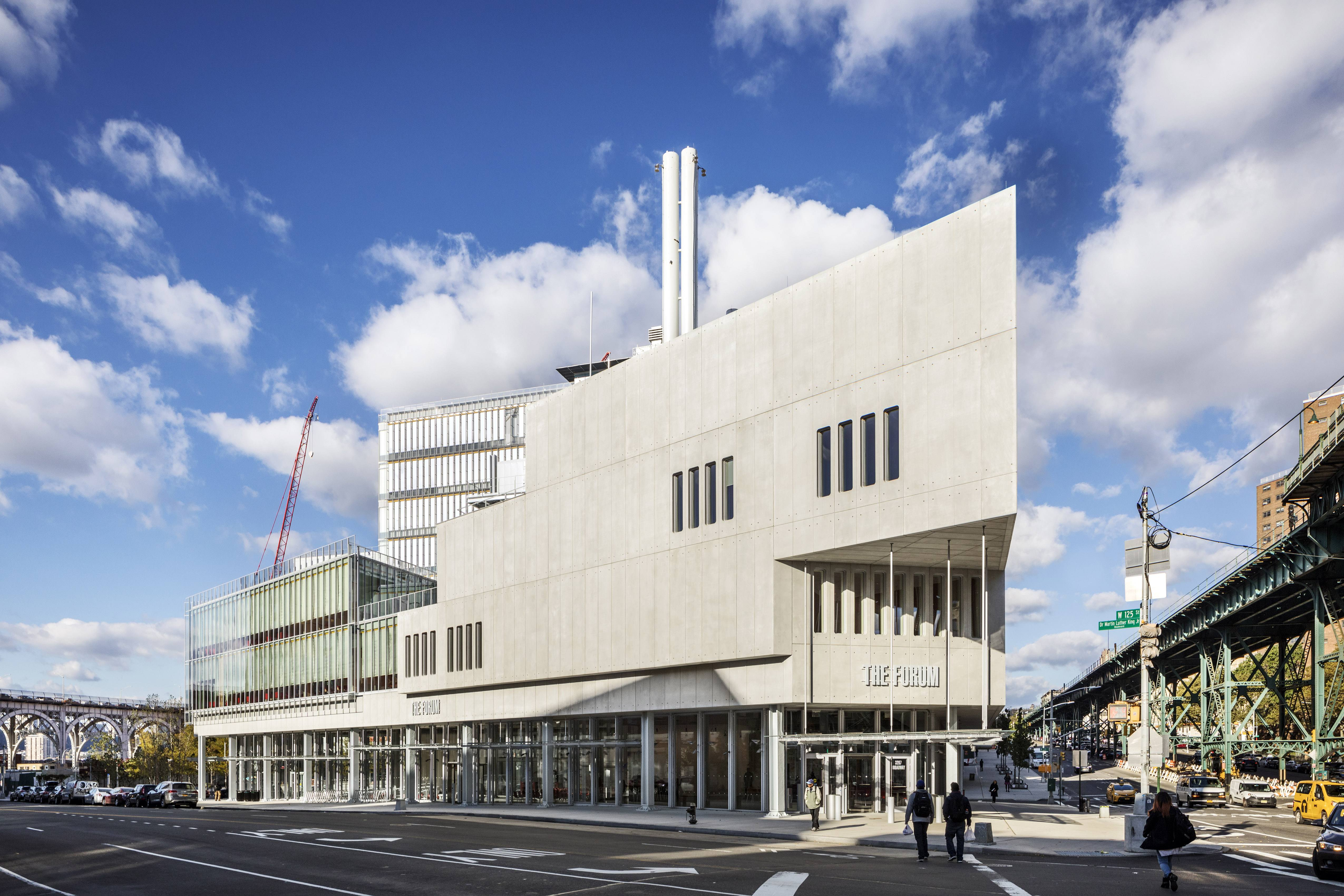 Dattner Architects, The Forum, Columbia University, SCUP Conference
