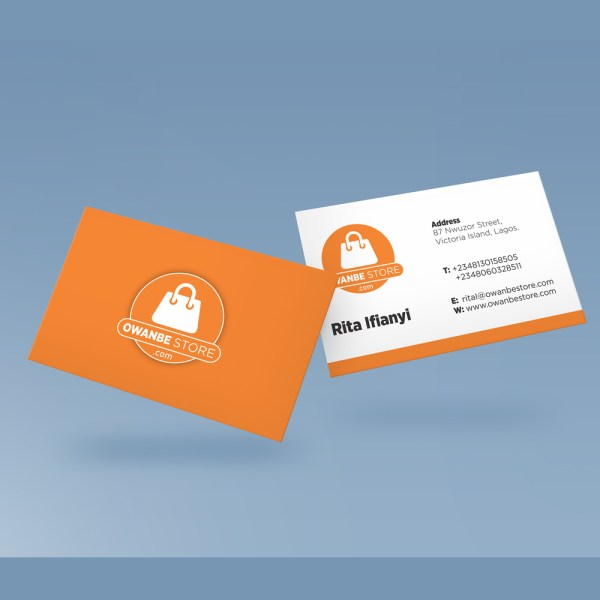 Business card and stationary design