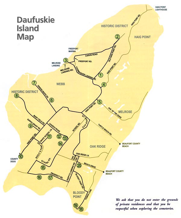 Bluffton Hilton Head Island Map