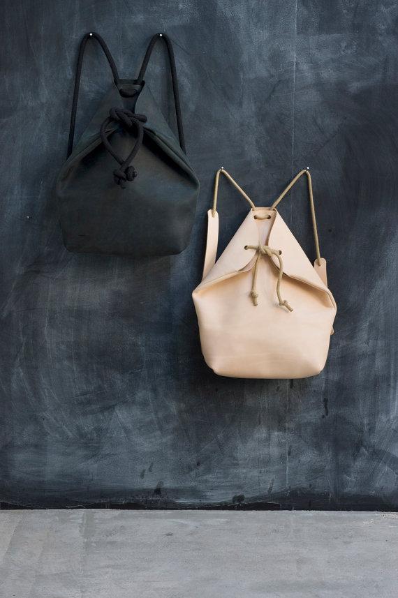 minimal rucksack, chrisvanveghel, etsy bags, chrisvanveghel interview