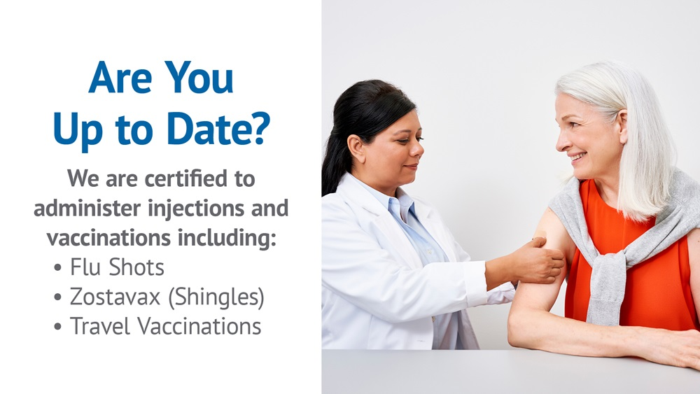 Flu Shots Injection Services Dauphin Clinic Pharmacy