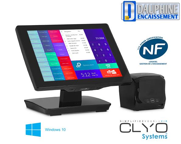 TPV Oxhoo indigo + logiciel Clyo Systems