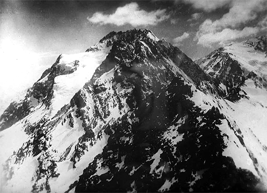 Foto tomada desde la cumbre del Morado por Sebastian Krückel