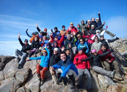 Trekking a cerro El Roble