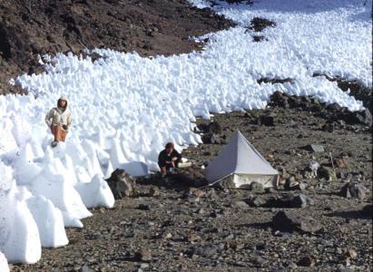 Nevado Piuquenes 1954 – Fotos de Eberhard Meier