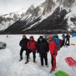 El grupo perseverante que estuvo en los 2 ice fest