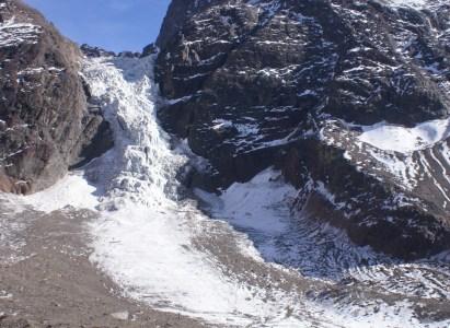 Trekking al Glaciar Colgante El Morado