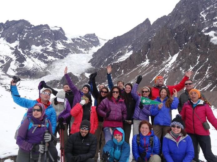 Glaciar juncal 17 mayo 2014