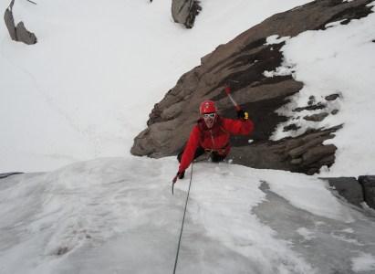 Curso de escalada en hielo – Agosto 2015