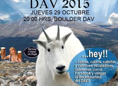 Rocktoberfest DAV 2015 – 29 de Octubre