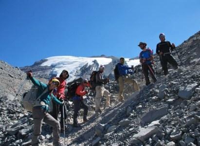 Curso Básico de Montaña con Ascenso al Cerro El Plomo 5424 msnm. 26-31 de Enero 2016