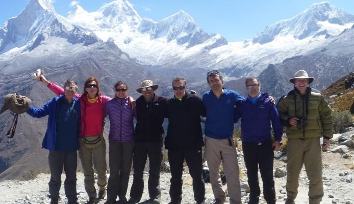 Foto grupo trekking