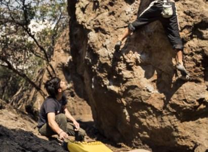 Bouldering en Jurassic Park, Santiago – 29 de Mayo