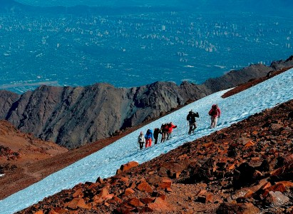 Ascenso cerro Punta de Damas – 3 y 4 de Septiembre