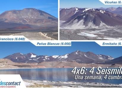 Expedición 4×6-DAV: 1 semana, 4 cumbres de 6 mil mts. -29 de Octubre a 6 de Noviembre