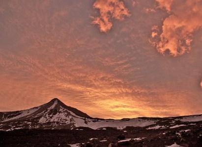 Relato Ascenso al volcán Maipo. 5323 msnm – 14 al 16 de Abril
