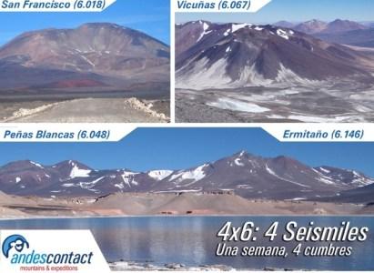 PROGRAMA DE ASCENSO 4×6: 4 SEISMILES PARA CORDADAS DAV – Diciembre del 2018