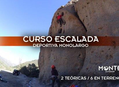 Curso Escalada Deportiva Monolargo, 27/09 al 15/10