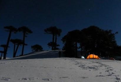 Salida Randonée: Travesía Centro de Ski Los Arenales (Lonquimay) a  Corralco (Malalcahuello) -11 y 12 de Agosto