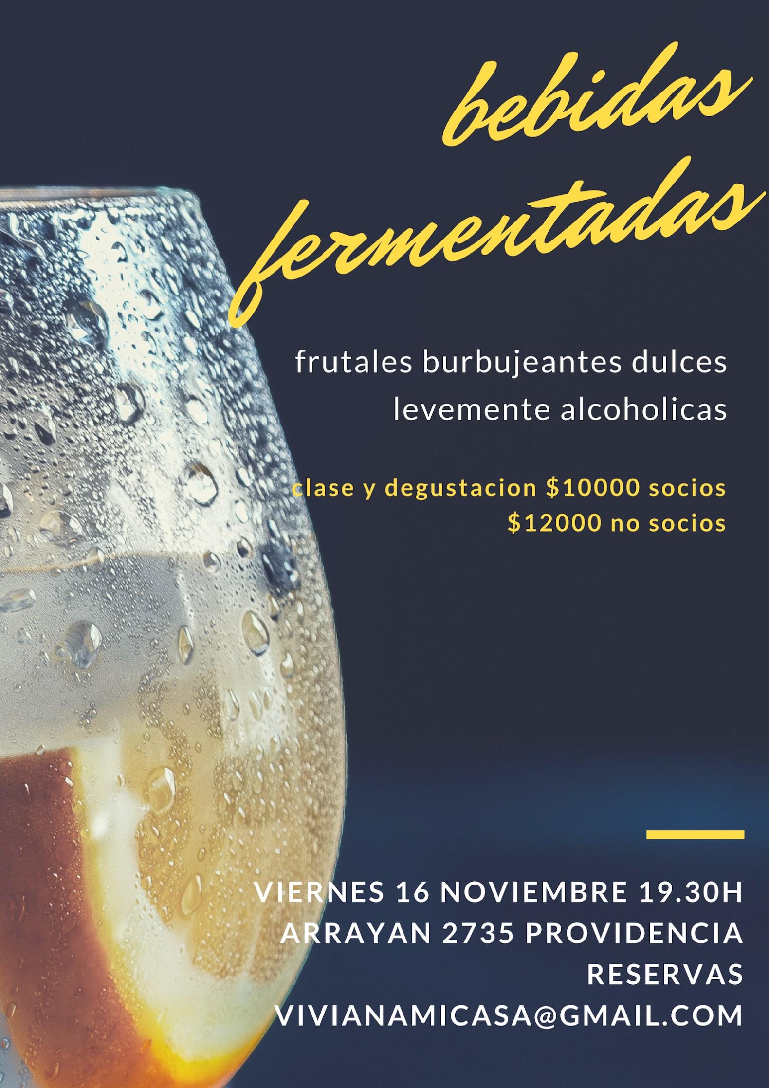 Clase Bebidas Fermentadas – 16 de noviembre