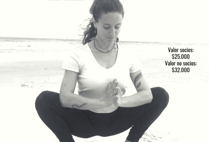 Clases de Yoga con Valentina Montes Lunes 19:30 hrs y Jueves 19:15 hrs